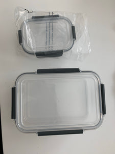 Set Of 2 Containers With Lids