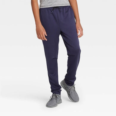 Kids' / Youth Athletic Performance Jogger Pants, Navy - Midtown Bargains