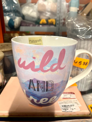 Platzgraff Everyday Wild And Free 18-oz Coffee Mug - Midtown Bargains