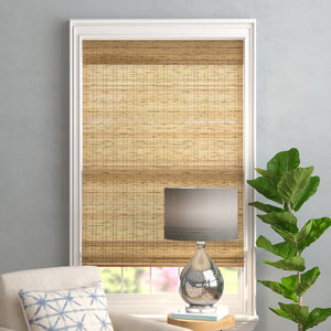 "Aymeric Drawstring Bamboo Roman Shade, 30"" x 54"" *LOCAL PICKUP ONLY"
