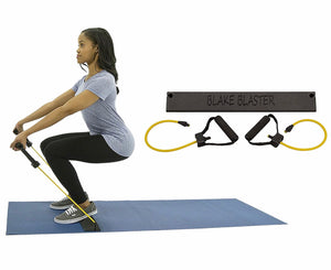 Clearance: 80% Off Blake Blaster Revolutionary Squat Trainer and Portable Full Body Home Gym Exercise With Workout DVD