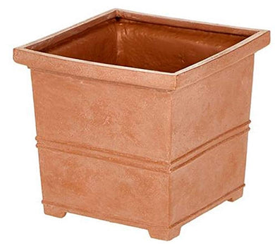 "Martha Stewart 12"" Square Planter with False Bottom - Midtown Bargains"