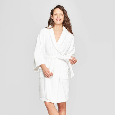 Women's Cozy Robe, White