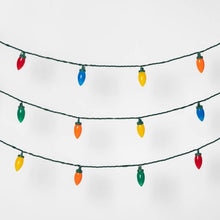 25ct LED C9 String Lights Multicolored - Midtown Bargains