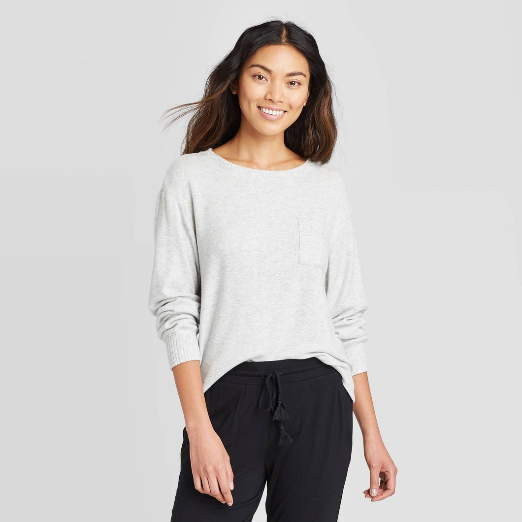Women's Perfectly Cozy Lounge Sweatshirt, Large - Midtown Bargains