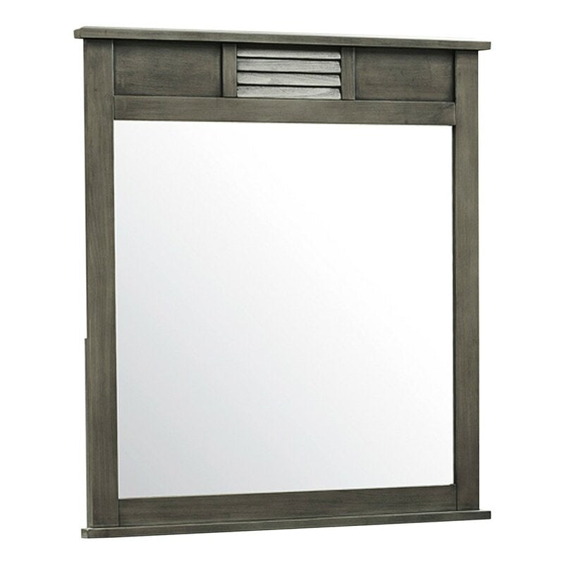 Clearance: 75% Off Socorro Dresser Mirror *LOCAL PICKUP ONLY - Midtown Bargains
