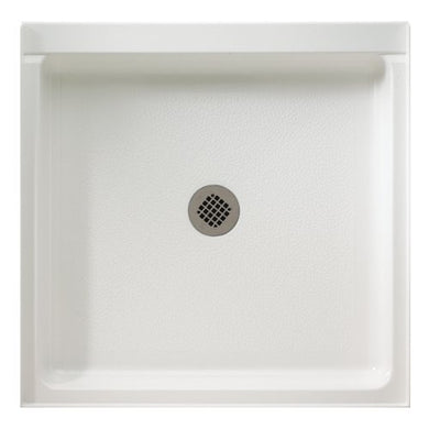 "Clearance: 65% Off Swanstone SS-3636 36"" x 36"" Center Drain Shower Base"