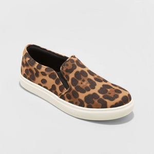Women's Reese Leopard Printed Sneakers - Midtown Bargains