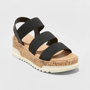 Women's Benni Sporty Cork Bottom Platform Sandals