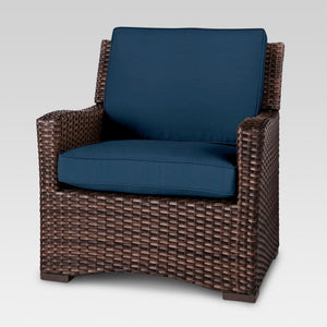 Halsted All Weather Wicker Patio Club Chair *LOCAL PICKUP ONLY - Midtown Bargains