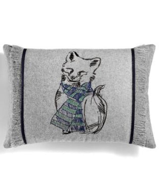 Clearance: 75% Off - Martha Stewart Snuggle Fox 14 x 20 Decorative Pillow