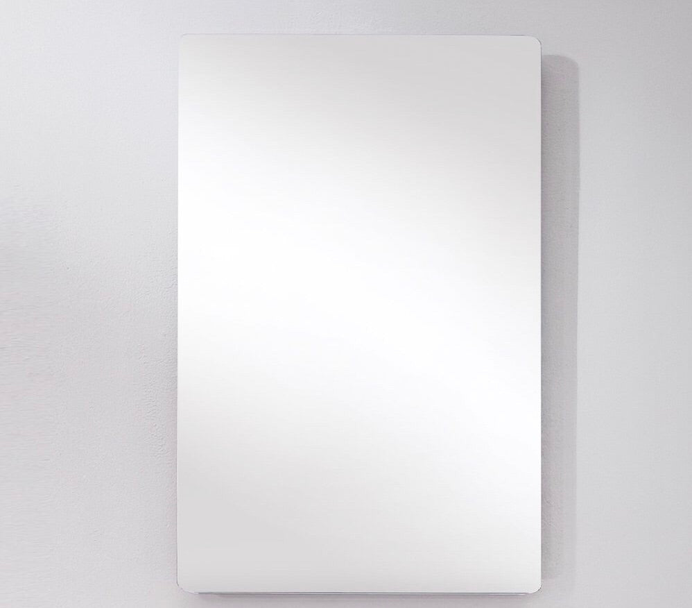 "Fresca Adour 15 3/4"" x 27 1/2"" Bathroom Mirror *LOCAL PICKUP ONLY - Midtown Bargains"