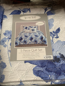 Montilly Lewiston Spring Hill Grove Quilt Set, Queen