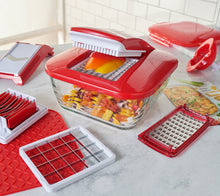 Genius 12-Cup Chopper With 5 Blades and Glass Baker With Storage Lid - Midtown Bargains
