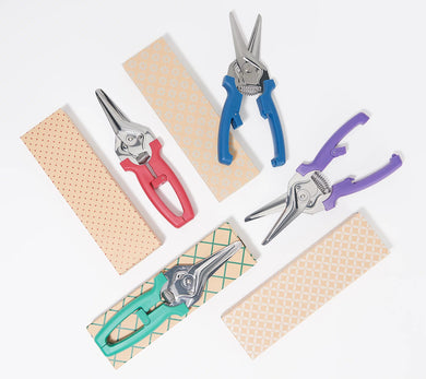 Kuhn Rikon Set of 4 Shears with Gift Boxes Farmhouse,