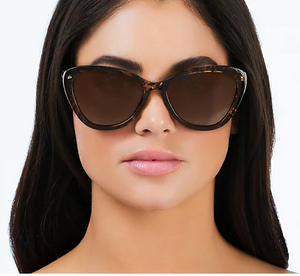 """As Is"" Prive Revaux The Hepburn 2.0 Cat -Eye Polarized Sunglasses - Midtown Bargains"