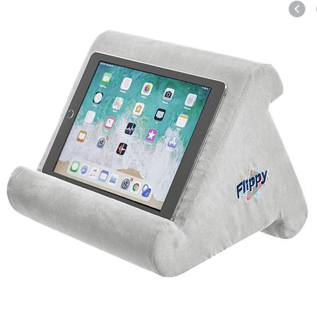flipy Multi-Angle Soft Stand for Tablets, Books & E-Readers Grey, - Midtown Bargains