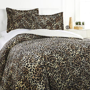 Plush Sherpa Comforter Set, King/Cal King