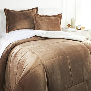 Plush Sherpa Comforter Set, King/Cal King *LOCAL PICKUP ONLY