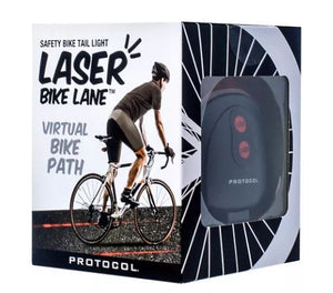 Protocol Laser Bike Lane Safety Bike Tail Light - Midtown Bargains