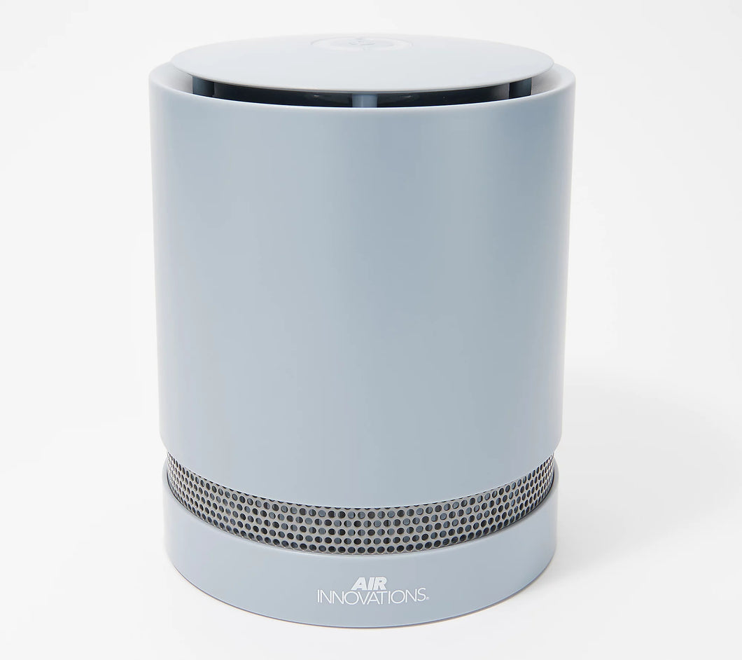 Air Innovations Max Clean Compact Air Purifier with HEPA Filter **Sky Blue - Midtown Bargains