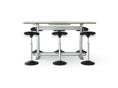 Focal Upright Confluence Table Stand Up Conference Table Dynamic Era - Stand up conference table