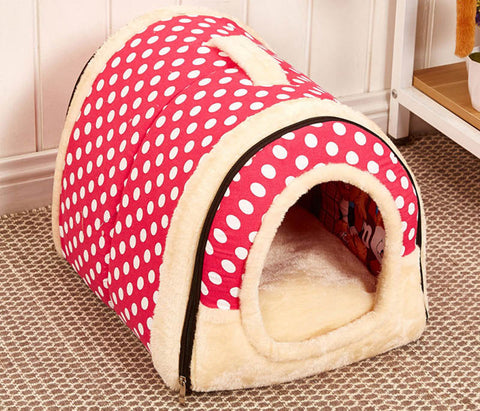 PupComfy™ - Dual Purpose Pup Bed & Kennel