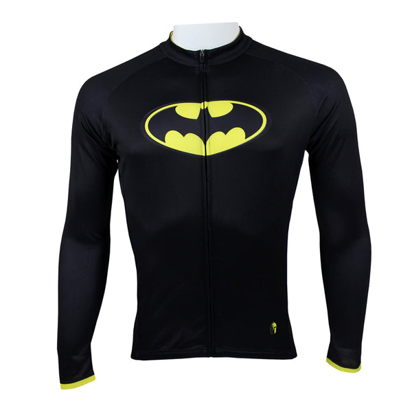 Batman Detective Comics Super Hero Short/Long-sleeve Summer Spring Men's Cycling Jersey  Jacket Bicycling Suit T-shirt Clothes Sportswear Cycle Racing NO.034