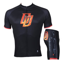 Daredevil Marvel Comics Super Hero Short/Long-sleeve Cycling Jersey T-shirt Summer Spring Autumn Clothes Apparel Outdoor Sports Gear Leisure Biking Sportswear NO.041