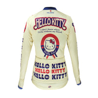 HELLO KITTY Princess - Jacket T-shirt Summer Spring Autumn Clothes Sportswear Cartoon World Black -Long-sleeve Women's Top Cycling Jersey  NO.084