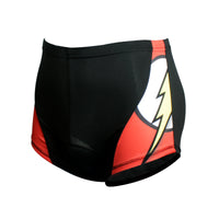 Flash Superhero Mens 3D Padded Cycling Underwear Shorts Bicycle Underpants Lightweight Bike Biking Shorts Breathable Bicycle Pants Lightweight NO.CK916