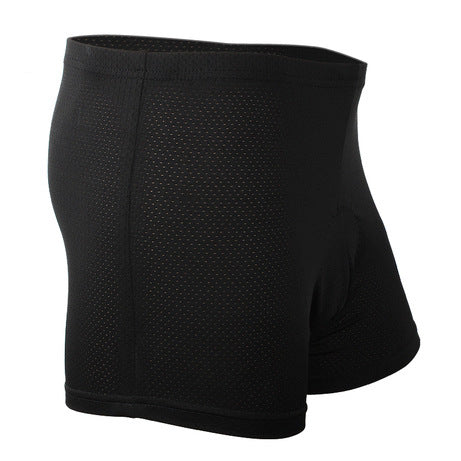 Black Summer Mens Womens 3D Padded Cycling Shorts MTB Bike Bicycle Underwear Breathable Quick Dry Comfortable NO. NK310