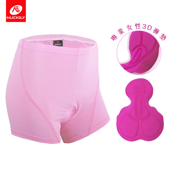 Professional Womens 3D Padde Sponge Underwear Damping Sports Pants NO.NS360