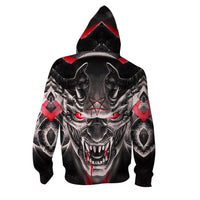 Evil Monster Hoodies Sweatshirt Zipper Funny 3D Print Long Sleeve Pullovers Tracksuit Leisure Fashion Hooded Shirts with Pocket Spring Autumn Casual Clothes NO.1271