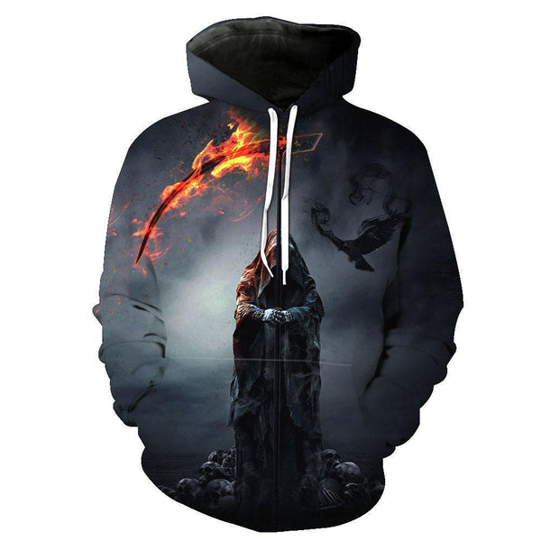 Cliff Hoodies Sweatshirt Funny 3D Print Long Sleeve Pullovers Tracksuit Leisure Fashion Hooded Shirts with Pocket Spring Autumn Casual Clothes NO.1348