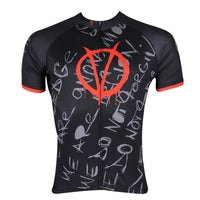 V for Vendetta - Jacket T-shirt Summer Spring Autumn Clothes Sportswear Apparel Outdoor Sports Gear Leisure Biking Shirt - Short-sleeve Men's Cycling Suit/Jersey  NO.144