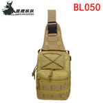 BL050 Vertical Backpack Shoulder Strap Chest Bag Tactical Army Fans Outdoor Sports Daypack for Traveling Hiking Climbing