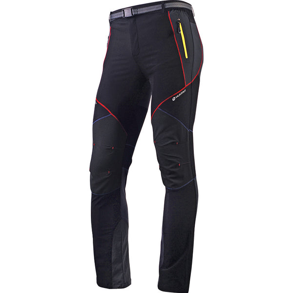 Mens Outdoor Cycling Pants Long Spring Summer Autumn Fall Trouser Black NO.MM004