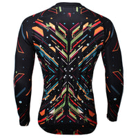 Spark Black Men's Long-sleeve Breathable Jersey Biking T-shirt NO.389