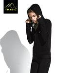 Women's  Long Sleeve Hooded Sportswear
