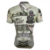 ARMY GEAR ADMIN VETERAN Men's Short-sleeve Cycling Jersey For Summer Biking Shirts NO.536