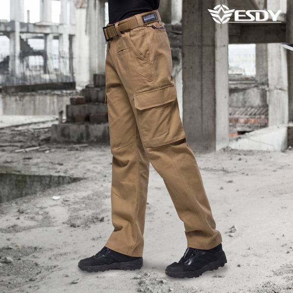 NO.B257 ESDY City Tactics Pants Straight-leg convertible Pant Antifouling Tooling Soldier Outdoor Sports Casual Travel Assault Cargo