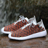 NO.5068 Couple Woven Shoes Breathable Quick Dry Outdoor Woven Shoes Fasion Simple Style For Woman Man