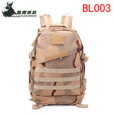 3D Attack 40L Backpack Shoulders Backpacking Bag Outdoor Sports Daypack for Traveling Hiking Climbing Cycling Mountaineering Camping-BL003