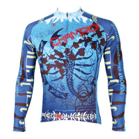 Scorpion Men's Long-sleeve Cycling Jersey Biking T-shirt Autumn Spring NO.521