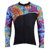 Bird nest Mens Patterns Long-sleeves Cycling Jersey Spring Fall Autumn 525