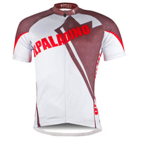 Brown White Men's Cycling Jersey Summer Biking Shirts NO.781