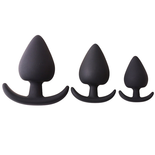5 Pcs 5 Size Anal Plugs Beginner Kits, Unique Stimulation Super Exciting Waterproof Massager Silicone Jeweled G-spot Anal Plugs Butt Trainer Toys for Women Meneweled G-spot A-nal P-lugs Butt Trainer Toys for Women Men