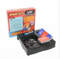 Free Shipping Speak Out Board Game Practical Jokes Novelty Gag Toys Party Funny Gift For Family Birthday