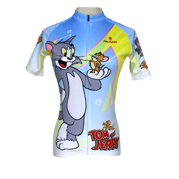 64f03165b ... Tom And Jerry Cats and Mouses Cartoon World Bike Shirt Bicycling Pro Cycle  Clothing Racing Apparel ...